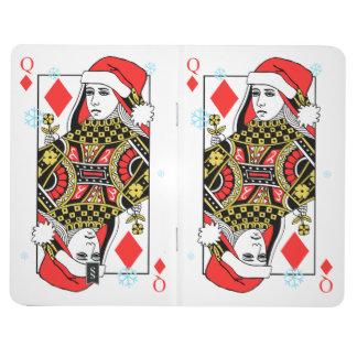 Merry Christmas Queen of Diamonds Journal