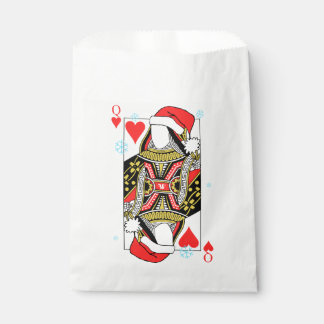 Merry Christmas Queen of Hearts - Add Your Images Favour Bags
