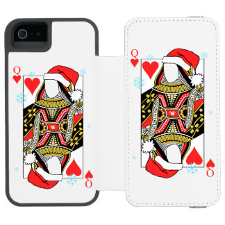 Merry Christmas Queen of Hearts - Add Your Images Incipio Watson™ iPhone 5 Wallet Case