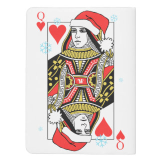 Merry Christmas Queen of Hearts Extra Large Moleskine Notebook
