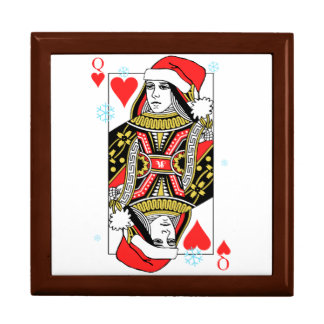 Merry Christmas Queen of Hearts Gift Box