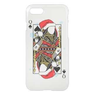 Merry Christmas Queen of Spades - Add Your Images iPhone 7 Case