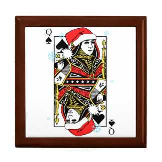 Merry Christmas Queen of Spades Gift Box