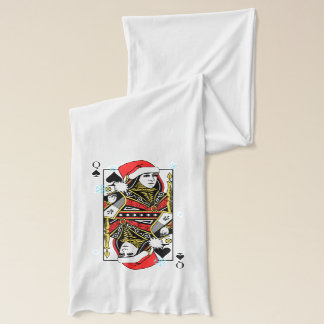 Merry Christmas Queen of Spades Scarf