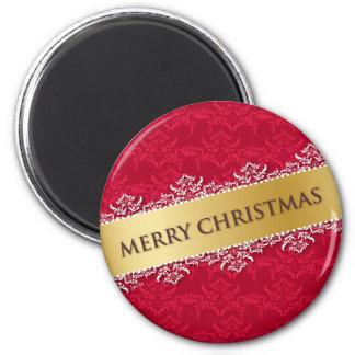 Merry Christmas red - Magnet Magnets