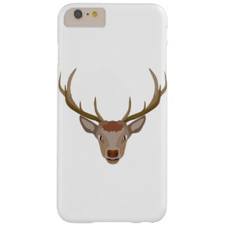 Merry Christmas Reindeer Barely There iPhone 6 Plus Case