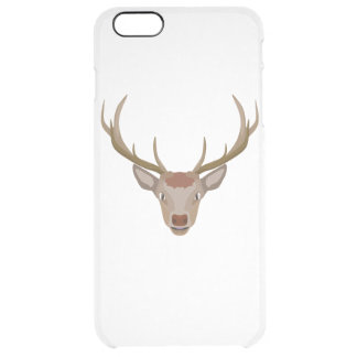 Merry Christmas Reindeer Clear iPhone 6 Plus Case