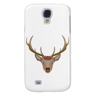 Merry Christmas Reindeer Galaxy S4 Cases