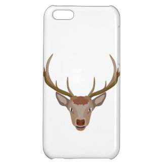Merry Christmas Reindeer iPhone 5C Cover