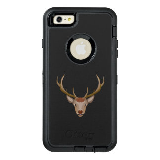 Merry Christmas Reindeer OtterBox Defender iPhone Case