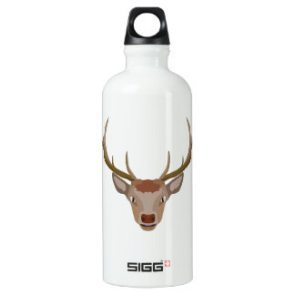 Merry Christmas Reindeer Water Bottle