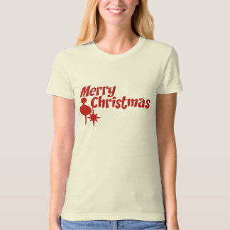 Merry Christmas Retro Style T-Shirt