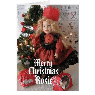 Merry Christmas Rosie Card