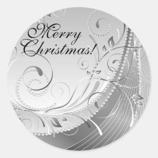 Merry Christmas! Round Sticker