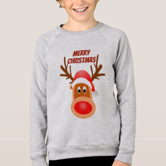 Merry Christmas Rudolph tee