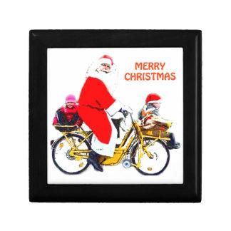 Merry Christmas Santa and Kids Gift Box