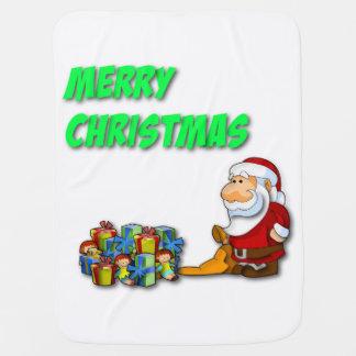 Merry Christmas Santa Baby Blanket