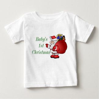 Merry Christmas Santa Baby's 1st Tee Shirts