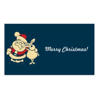 Merry Christmas Santa Business Card Template