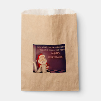 Merry Christmas Santa Claus bag