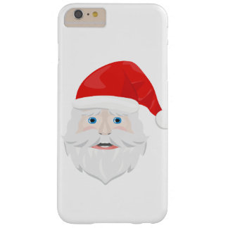 Merry Christmas Santa Claus Barely There iPhone 6 Plus Case