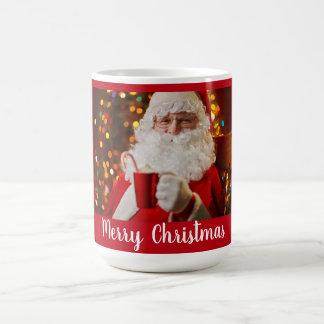 Merry Christmas Santa Claus Jumbo Mug