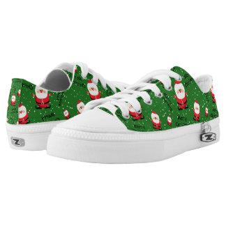 Merry Christmas Santa Claus Low Tops