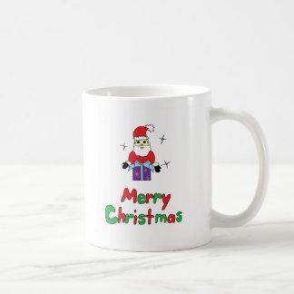 Merry Christmas Santa Claus Basic White Mug