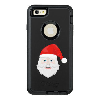 Merry Christmas Santa Claus OtterBox Defender iPhone Case