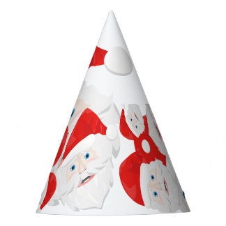 Merry Christmas Santa Claus Party Hat