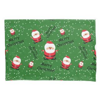 Merry Christmas Santa Claus Pillowcase