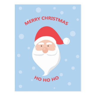 Merry Christmas Santa Claus Postcard