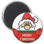 Merry Christmas Santa Claus Refrigerator Magnets