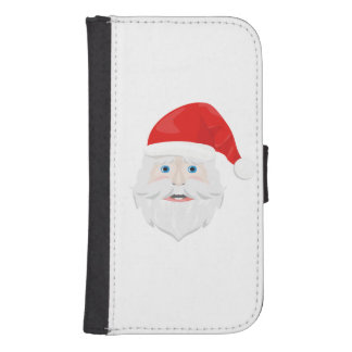 Merry Christmas Santa Claus Samsung S4 Wallet Case