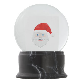 Merry Christmas Santa Claus Snow Globes