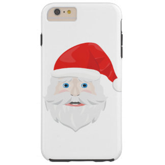 Merry Christmas Santa Claus Tough iPhone 6 Plus Case