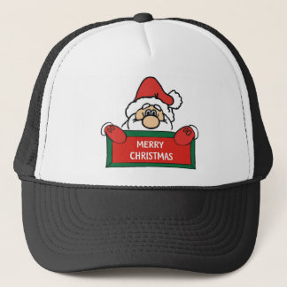 Merry Christmas Santa Claus Trucker Hat