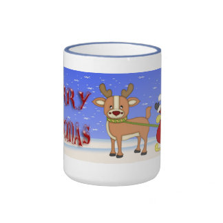 Merry Christmas Santa Coffee Mugs