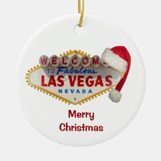 Merry Christmas Santa Hat Ornament