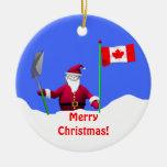 Merry Christmas Santa in Canada