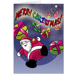 Merry Christmas! - Santa incoming! Card