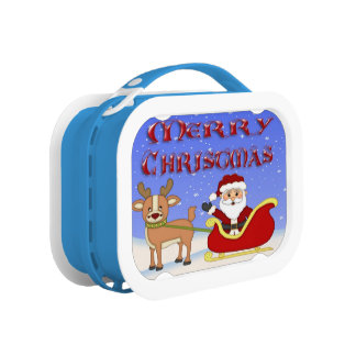 Merry Christmas Santa Lunch box