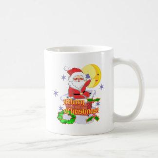 Merry Christmas Santa Coffee Mug