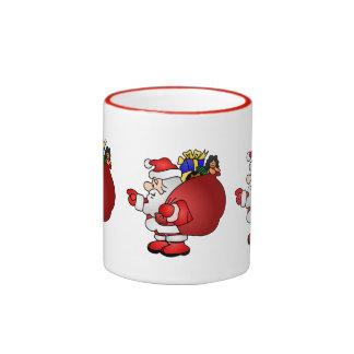 Merry Christmas Santa Mug