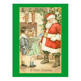 Merry Christmas Santa Post Cards