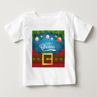 Merry Christmas Santa Suit Baby T-Shirt
