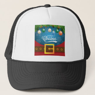 Merry Christmas Santa Suit Trucker Hat