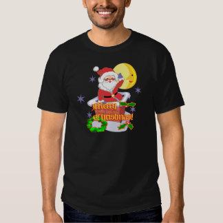 Merry Christmas Santa T-shirts