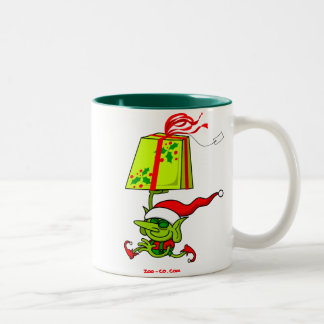 Merry Christmas Santa's Elf Mug