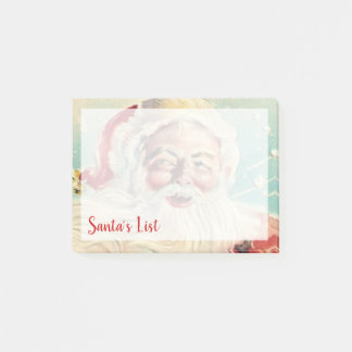 Merry Christmas | Santa's List Post-it Notes